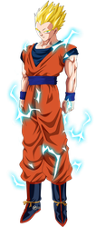 gohan ssj 2 -  Universe Survival by naironkr
