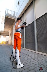 cosplay Chell -3 by sadakochan87