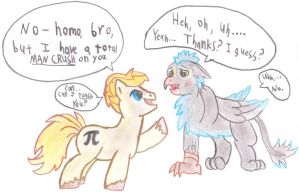 My Gryph0n Mancrush by TheLordofPies
