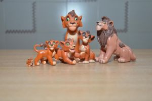All my Kovu figures by kary218