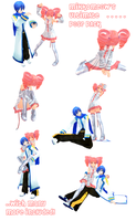 MMD Ultimate Pose Pack by nyanami