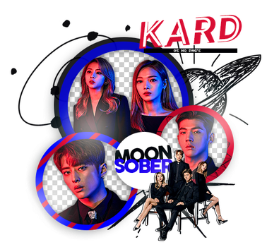 KARD (YOU IN ME)- PNGPACK#1 by MoonSober