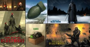 Gone With the Blastwave Wallpaper by insanedictator