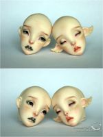 Lillycat Cerisedolls Constantine and Ombre commiss by kamarza