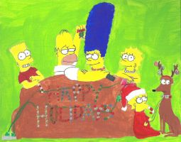 Homer and Marge Simpson by MissAmyLovett on DeviantArt