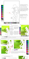 tegaki E coloring guide thingy by TwilightMemories