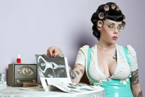 Girlie magazines by photography-by-vara