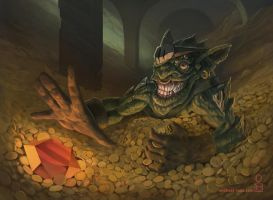 Goblins Greed by MichaelLoos