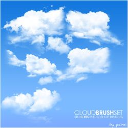 Cloud Brushes by painsi