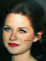 Bonnie Wright sketch by perlaque