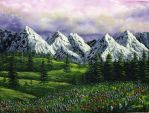 Spring On The Mountain by DonBowling