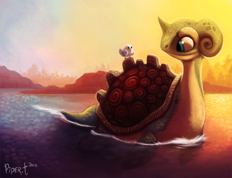 Daily 1 - Lapras by Cryptid-Creations