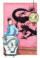 Tintin: Into the Blue Lotus by PeaceMakerSama