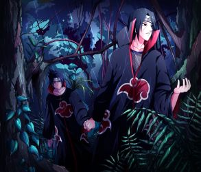I Think A Big Storm Is Coming, Sasuke.. by Chillovery
