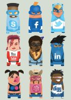 Themartist social icons by Ben-G-Geldenhuys