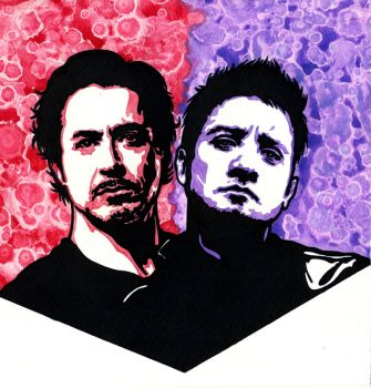 Clint and Tony 4 by weedenstein