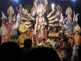 Durga Maa by anonymusk