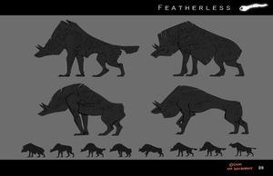 Featherless: The Atukybo iterations by Sarspax