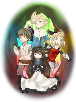 Bravely Default by oreoocookiez