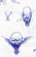 Faces Sketch by MichaelSyrigos