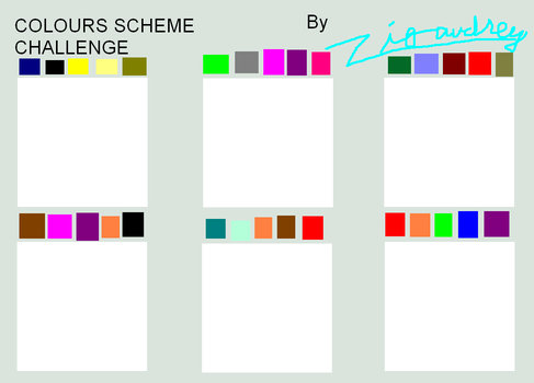 Colours challenge by Zigaudrey by zigaudrey