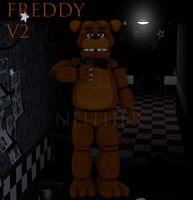 FREDDY FAZBEAR V2! by NeitherThePug