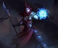 Battle Mage by ArtDeepMind