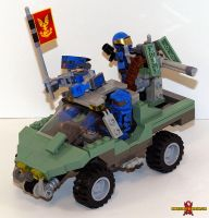 LEGO Halo Warthog by Saber-Scorpion
