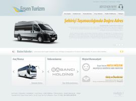 Ersen Tourism Web Interface by nywork
