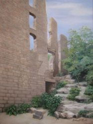 Ramsey Mill Ruins by Babsa