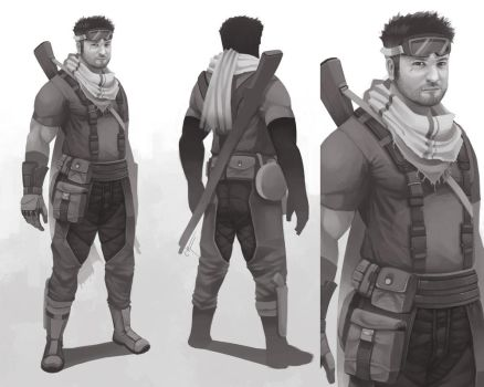 Soldier Concept by Ciwiaf