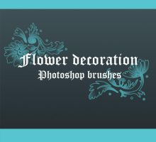 Flower Decoration Brushes by ashzstock
