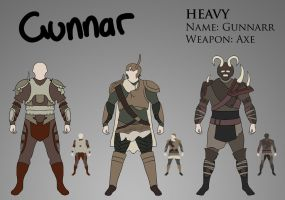 Costume Design - Heavy by Saza-Productions