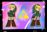 Panty and Stocking TP Link and SS Link by CynicalSonata