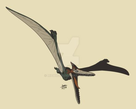 Pteranodon (Jurassic World 1, 2) by Michiragi