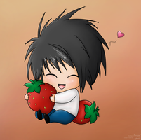 Strawberry love by Lazaer