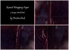 Ruined Wrapping Paper - 3 Textures Stock pack by XiuLanStock