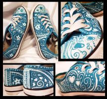 Turquoise Shoes Woooooo by iloveramen88