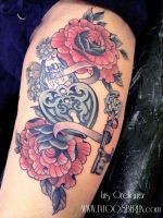 heart locker tattoo by mojoncio