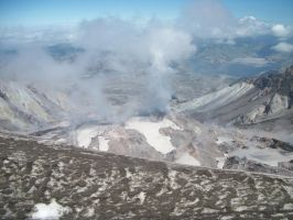 Mt.St.Helens Lava Dome by pokemontrainerjay