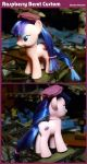 Raspberry Beret Pony Custom by lonewolf3878