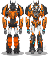 Transformers Prime OC - Echo 2.0 - UPDATED by MessyArtwok