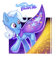 Trixie - Star Surfin' by Falldust