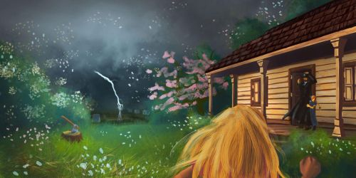 A Storm Approaches by CullenG-LSS