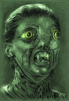THE REPTILE  { HAMMER FILMS 1966} A1 by Legrande62