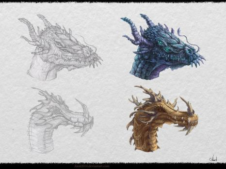 Dragon`s Design #2 by Azot2018