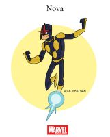 Mighty Marvel Month of March - Nova by tyrannus