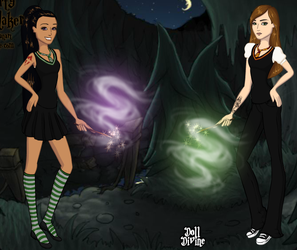 The Phoenix and the Death Eater by Cea-Robber-of-Souls