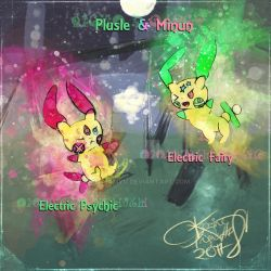 Diviner and Troublemaker Pokemons  [Pokechallenge] by Mechamyu