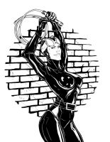 CATWOMAN-lines by jksketch